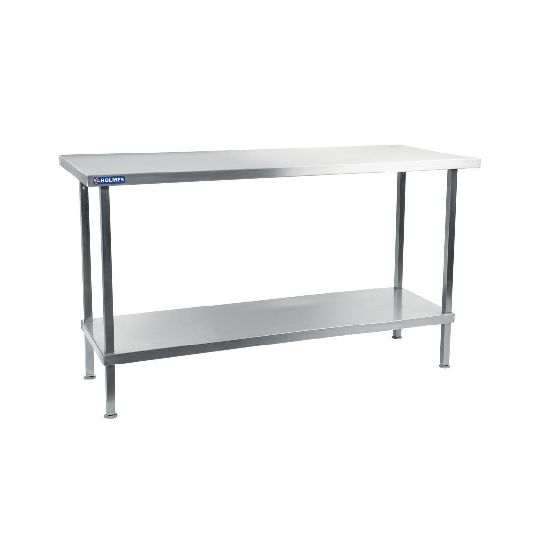 Holmes Self Assembly Stainless Steel Centre Table 600mm - DR341