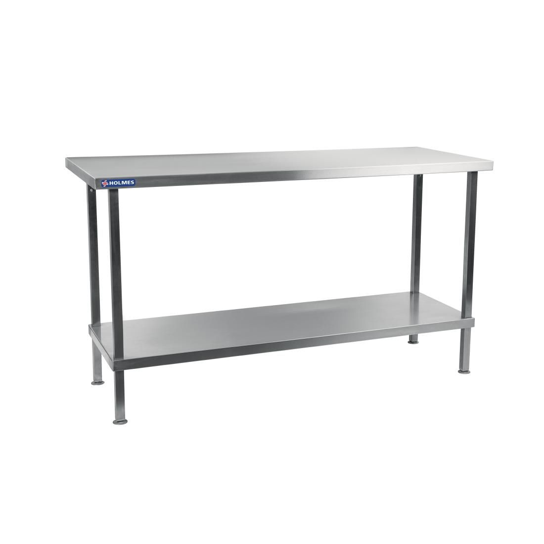 Holmes Stainless Steel Centre Table 1800mm - DR052