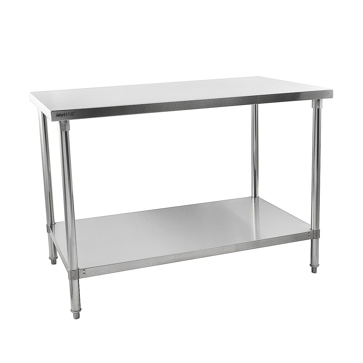 iMettos Stainless Steel Prep Table Width 1500mm - 141004