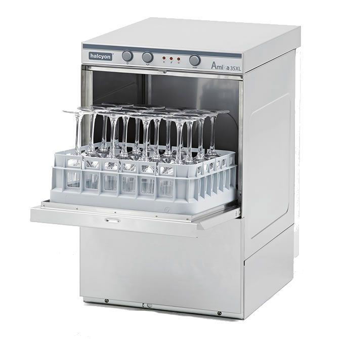 Maidaid Halcyon Amika Undercounter Glasswasher - AM35XL
