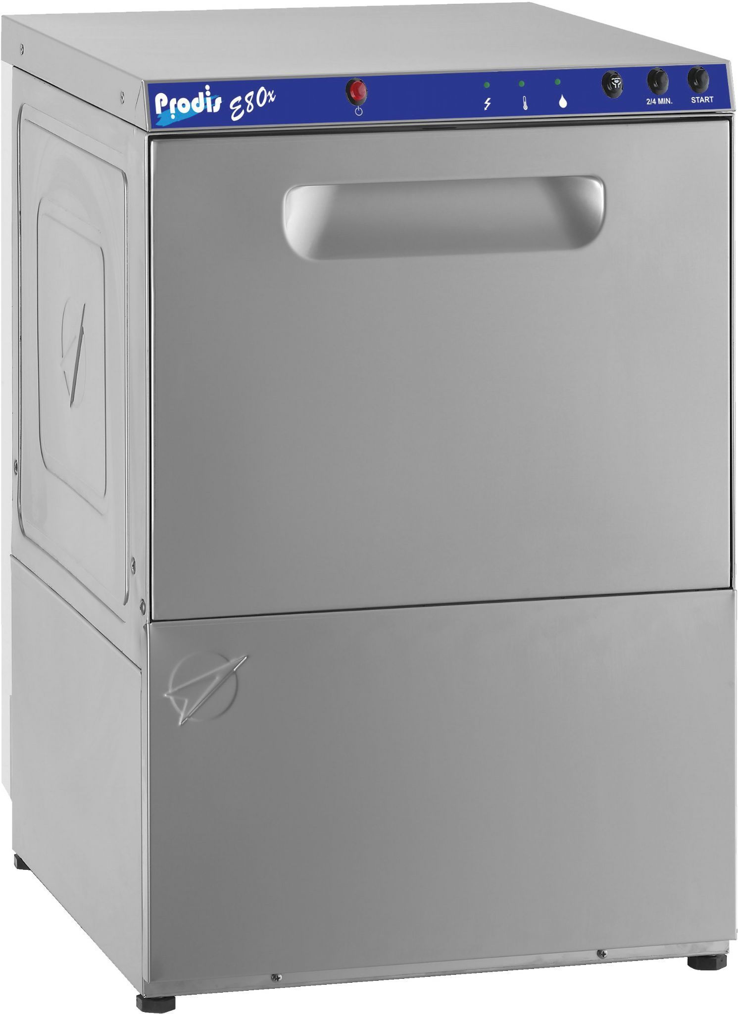 Prodis E80XD 500mm basket gravity drain dishwasher