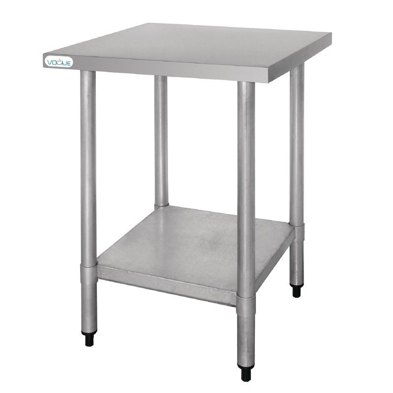 Vogue Stainless Steel Prep Table 600mm - T389