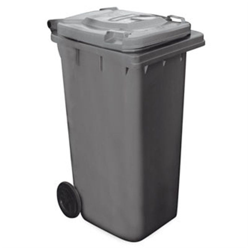 Wheelie Bin Dark Grey 120Ltr