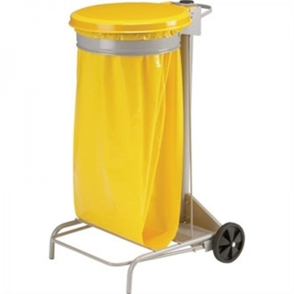 Rossignol Collecroule Mobile Sack Trolley Yellow
