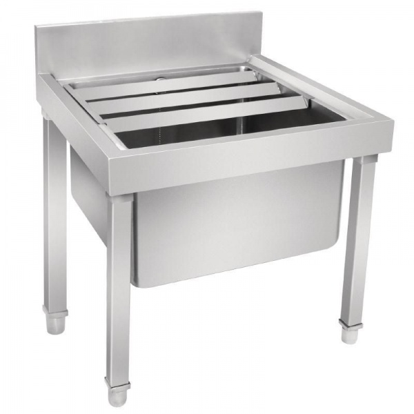 Vogue Stainless Steel Janitorial Sink - GL281